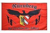 Flaggenfritze Fahne/Flagge Nürnberg - Im Zeichen des Adlers + gratis Sticker