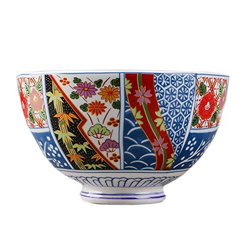 RKY Bol- Ménage de style japonais de couple bol en céramique bol à manger bol de nouilles instantanées bol à soupe bol de ménage créatif bol salade bol - 2 tailles /-/ (taille : 11.6 * 6.5cm)