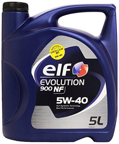 Aceite lubricante coche Elf Evolution 900 NF 5W40 5Ltrs