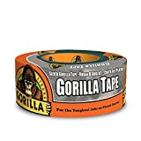 Gorilla Silver Duct Tape, 1.88' x 12 yd, Silver, (Pack of 1)