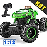 Remote Control Trucks Monster RC Car 1: 12 Scale Off Road Vehicle 2.4Ghz Radio Remote Control Car...