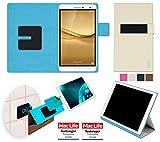 reboon Hülle für Huawei MediaPad T2 7.0 Pro Tasche Cover Case Bumper | in Beige | Testsieger