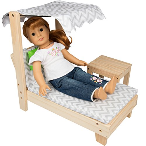 Dress Along Dolly Deluxe Doll Lounge Chair Furniture for 18