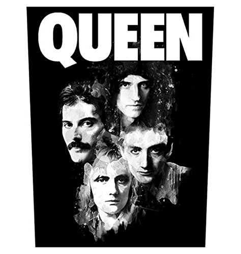 Queen Faces Freddie Mercury oficial 30x36x29cm Parche Posterior Patch