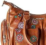 Desigual Damen Bag Rep Nanit London Umhängetasche, Braun (Marron), 15.5x25.5x32 cm - 4