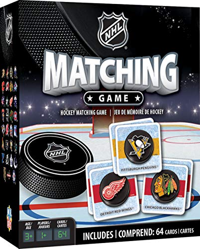 MasterPieces NHL League Version Matching Game for Ages 3 Assorted