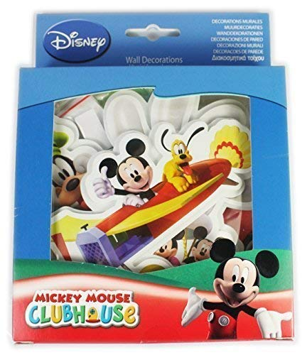 Disney Mickey Mouse Clubhouse 10 Mini Mousse Décorations Murales