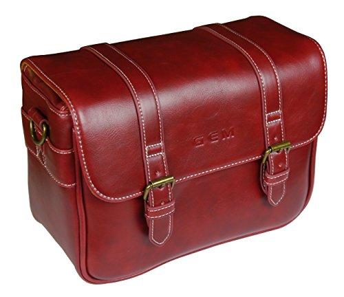 GEM CLNCB500RED Estuche para cámara fotográfica Cubierta de Hombro Rojo - Funda (Cubierta de Hombro, Nikon, Coolpix B500, Tirante para Hombro, Rojo)