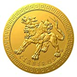 Power Coin Cerberus Mythical Creatures Moneda Oro 5$ Niue 2021