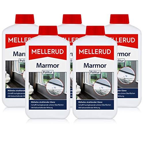 5x Mellerud Marmor Politur 500 ml - Vertieft Farbe und frisch auf