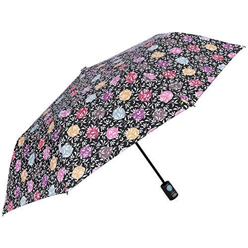 Paraguas Plegable Mujer Floral Lunares Dots - Paraguas Mini