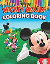 Mickey Mouse Coloring Book: 61 Awesome Illustrations for Kids
