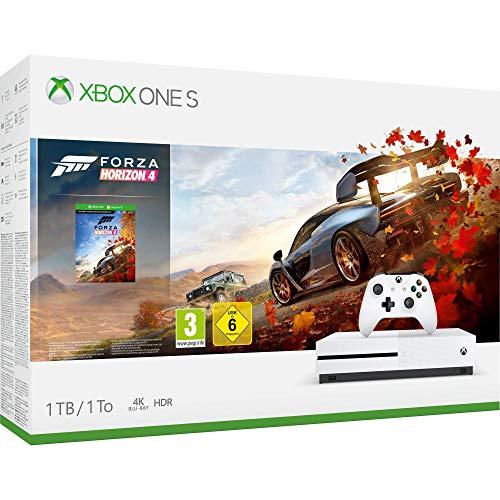 Microsoft Xbox One S - Consola 1 TB + Forza Horizon 4