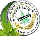 Bálsamo de Cáñamo Puraganic 1500 mg | Unción de Alta Calidad - Ayuda Aliviar...