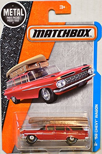 Matchbox 2017 Metal Parts Piezas '59 Chevy Wagon, Red