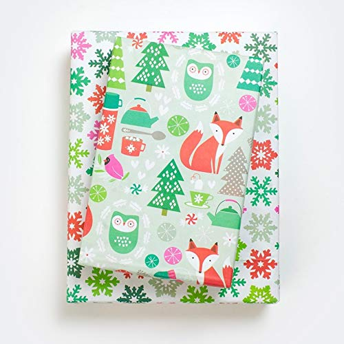 Christmas Eco-Friendly Reversible Wrapping Paper - Gift Wrap by...