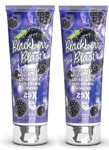 2 X Fiesta Sun Blackberry Blast 236ml Sunbed Lotion Tanning Cream by PBI
