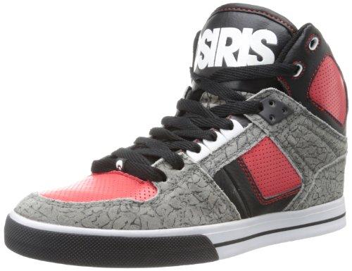 Osiris Nyc 83 Vlc - Zapatos para hombre, Gris (Gris (Gry/Red