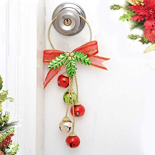 Irma Nuevos adornos de Navidad, campanas de Navidad, colgantes, decoraciones de árbol de Navidad