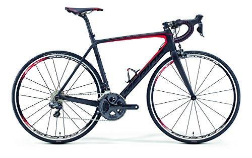 Merida Scultura 7000-E Bicicletta da corsa 28 pollici, nero/rosso (2016), 54
