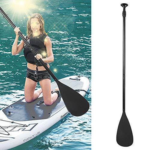 Dancal Remo 2 en 1 para SUP y kayak, remo telescópico, remo ajustable para surf, tabla de surf, barco, bote inflable