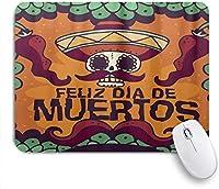 マウスパッド デッドデイDiaムエルトスハロウィーンメキシコの ゲーミング オフィス おしゃれ がい りめゴム ゲーミングなど ノートブックコンピュータマウスマット