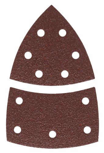 Bosch Schleifblatt (10 Stück, für Farbe, Lack, Hart-/Weichholz, Spanplatten, Metall, Rost, Zubehör für Multischleifer)