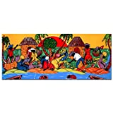 Caribbean Armory by Master's Art, 10x24-Inch Canvas Wall Art