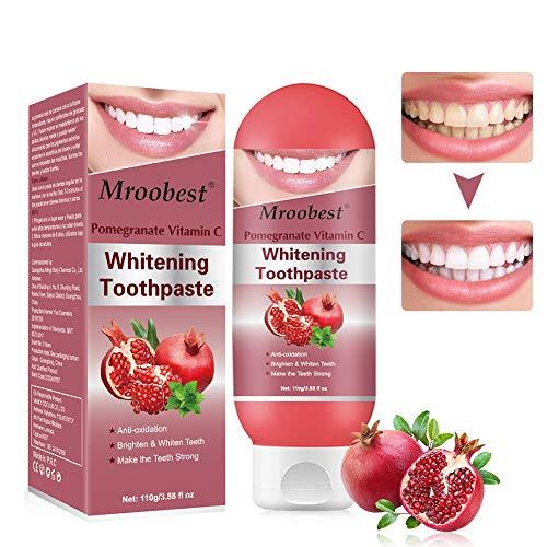 Zahnpasta, Whitening Toothpaste, Bleaching Zahnpasta, Zahnpasta mit Fruchtgeschmack, Aufhellende Zähne, Erfrischender Atem, Sicherer Mundschutz