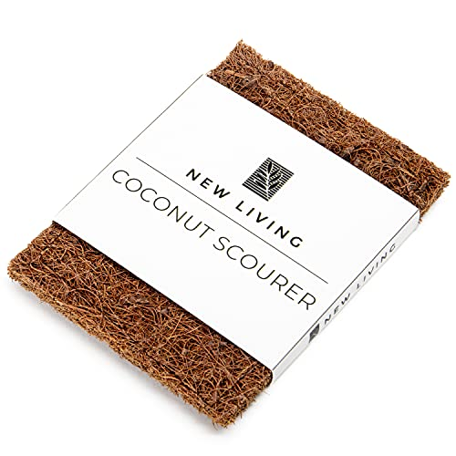 Coconut Kitchen Dish Scourers | Eco Product | Biodegradable | Non Scratch | Made from Discarded Shells (6)