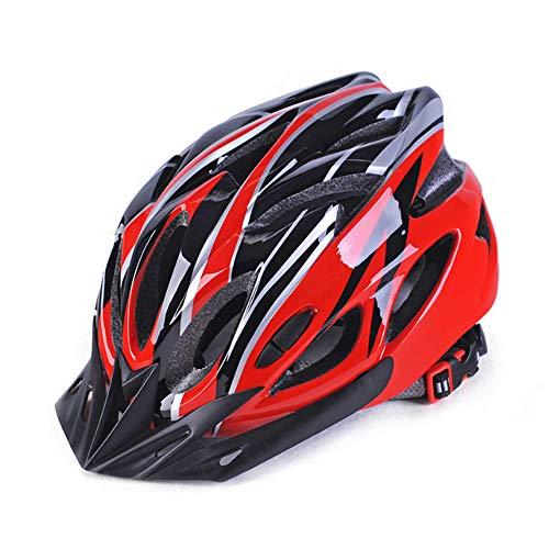 Lixada Fahrradhelm für Erwachsene,Mountainbike Helm MTB Fahrradradhelme,Verstellbare Integral Geformte Leichte Helme für Männer und Frauen