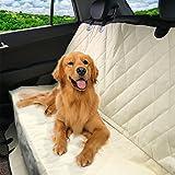 Pet Magasin Protector de asientos de coche para mascotas, de lujo, estilo hamaca – Funda de coche para perros impermeable, antiarañazos, antideslizante y universal