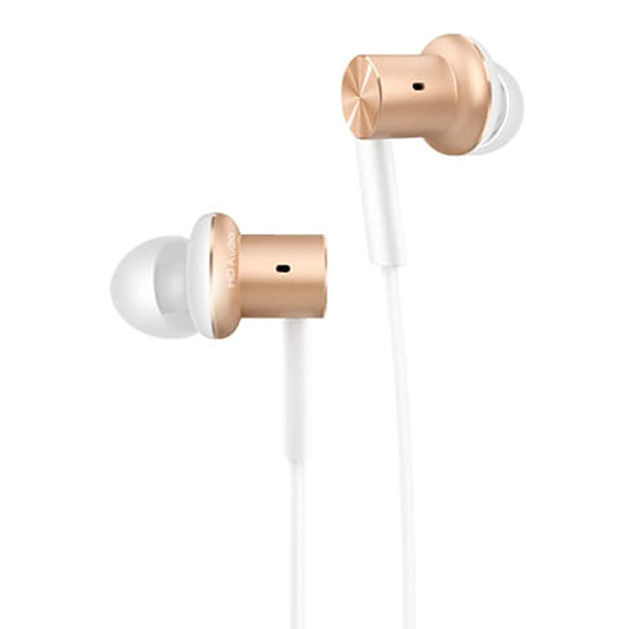 略語正規化差別Xiaomi イヤホン Mi In-Ear Headphones Pro (ゴールド) ハイレゾ対応