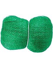 Connex Vogelnet, groen, 10 x 10 mm maaswijdte, gewicht 6 g/m2, robuust weefsel, betrouwbare bescherming tegen vogelpoep, fijnmazig fruitboomnet, vijvernet