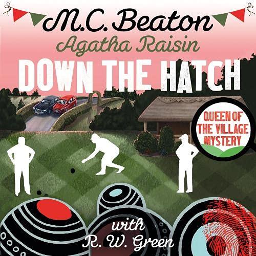 Agatha Raisin in Down the Hatch cover art
