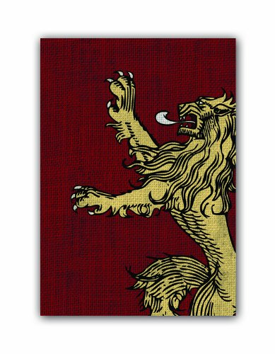 A Game of Thrones Art Sleeves: House Lannister