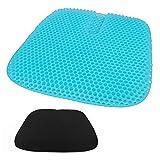 Cuscino in gel Heofean, nuovo grande cuscino del sedile a nido d'ape, doppio cuscino ispessito antiscivolo traspirante, seggiolino auto, sedia da ufficio