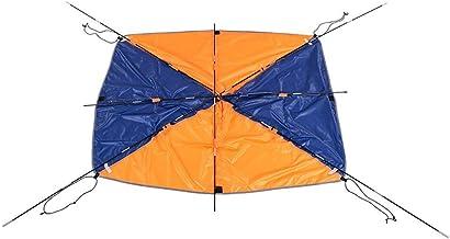 Floving 4-5 Personas Bote Inflable Parasol navegando toldo Techo Carpa Pesca