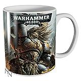 Warhammer 40K espacio lobos taza en caja de regalo