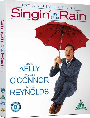 Singin' in the Rain - 60th Anniversary Ultimate Collector's Edition (Blu-ray + DVD bonus features) [1952] [Region Free]