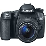 Canon EOS 70D Digital SLR Camera with 18-55mm STM...