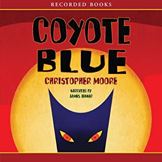Coyote Blue audiobook cover art