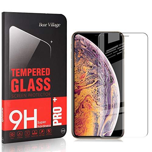 Bear Village® Verre Trempé pour iPhone 11 Pro Max 6.5, sans Poussière, Anti Rayures, 3D Touch Protection en Verre Trempé Écran pour iPhone 11 Pro Max 6.5, 2 Pièces