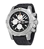Breitling Men's BTA1337111-BC29BKPT3 Super Avenger II Analog Display Swiss Automatic Black Watch