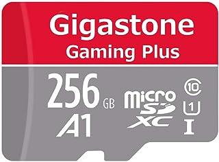 Gigastone Targeta de Memoria microSDXC de 256 GB con Adaptador SD Clase 10 U1 A1. Lectura/Escritura de hasta 95/35 MB/s. para Móvil tabletas y cámaras MIL Switch Gopro.