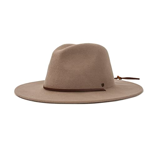 Brixton Men s Field Wide Brim Felt Fedora Hat 7b2172827b12