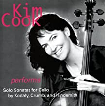 Kim Cook performs Solo Sonatas by Kodaly Crumb and Hindemith