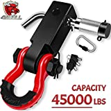 AMBULL Shackle Hitch Receiver & Towing Hitch...