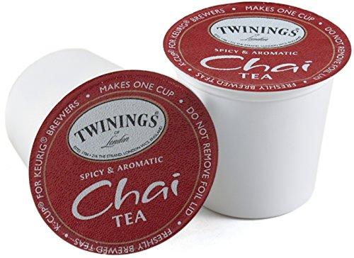 Twinings Chai Tea Keurig K-Cup, 96 Count