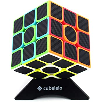 Cubelelo Drift 3x3 Speedcube Carbon Fiber Magic Speed Cube 3x3x3 Puzzle